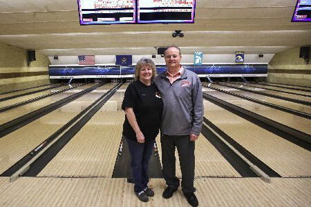 Ron and Cindy Daniels, Owners of Suburban Lanes of Jackson